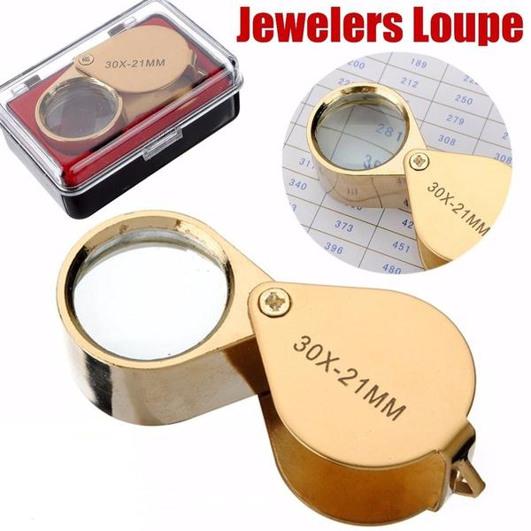 ledmagnifier, Loupes, Jewelry, Glass