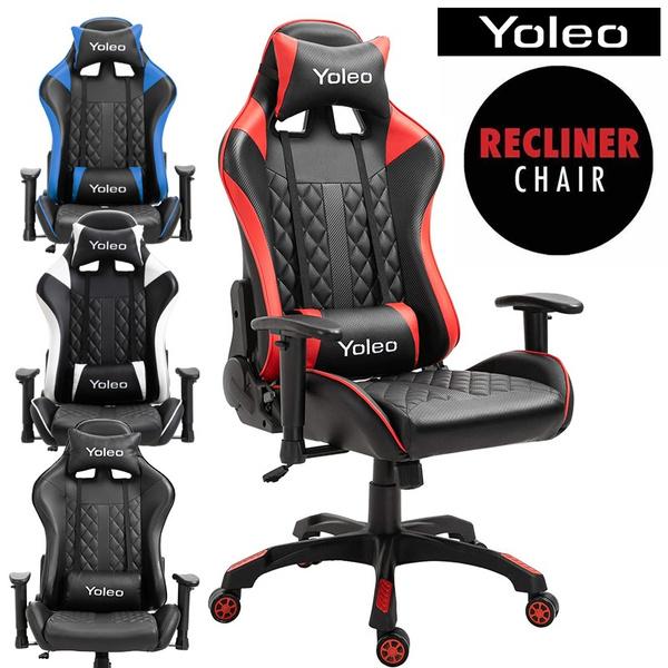gamechair, swivel, adjustablechair, reclinerchair