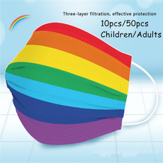 rainbow, Outdoor, mouthmask, childrenmask