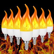 Light Bulb, firelight, atmosphere, led