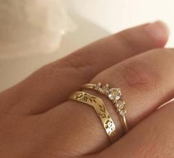 DIAMOND, Jewelry, gold, Simple