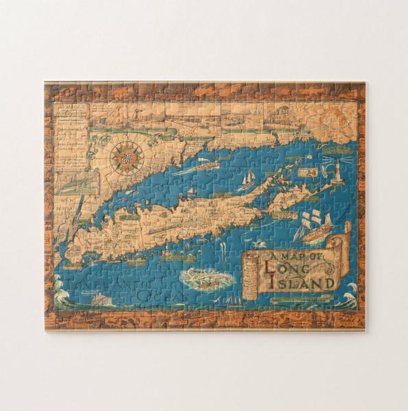longisland, toypuzzle, Gifts, Wooden
