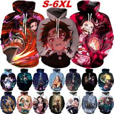 Fashion, Cosplay Costume, anime hoodie, 3dhoodiesmen
