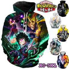 fashion women, myheroacademia, Sleeve, Long Sleeve