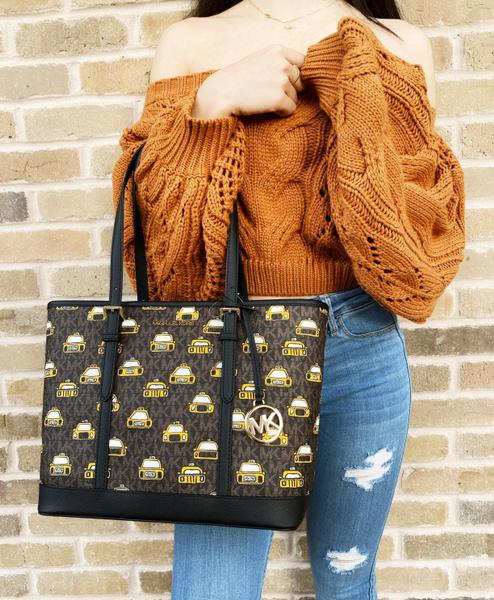 brown, Fashion, Totes, Zip