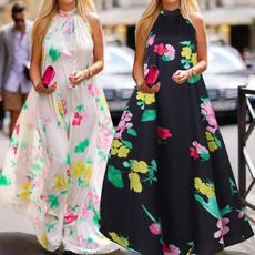 Summer, ruffle, floralprintdres, sundress