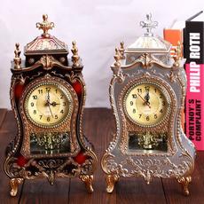 Antique, Home Decor, desktopclock, Clock