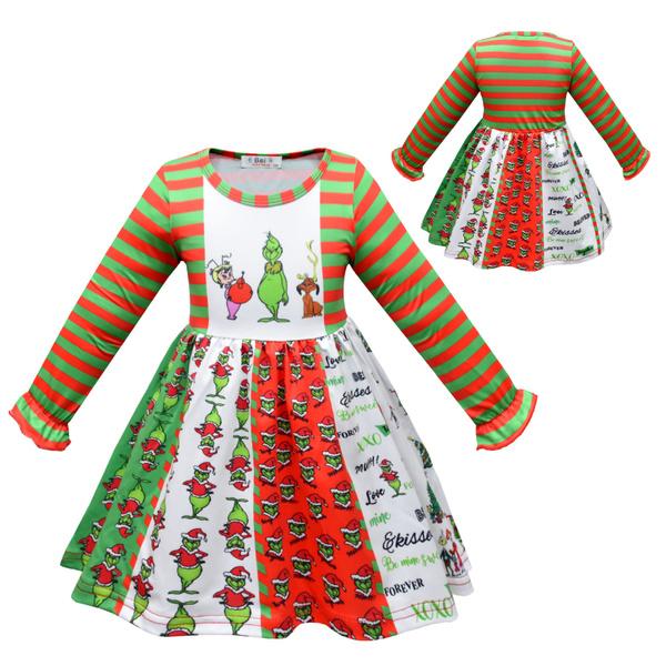 Fashion, Christmas, Sleeve, childrendre