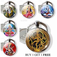 lakshmikeychain, amulet, lordshiva, Key Chain