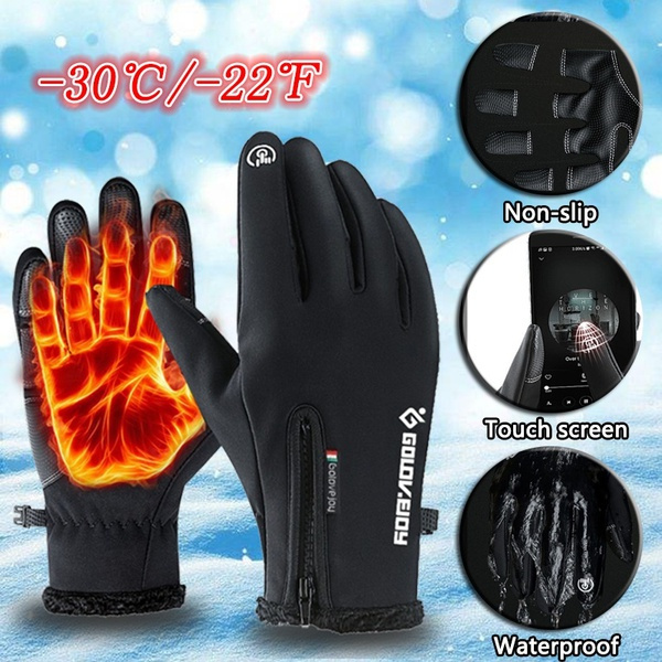 Touch Screen, Outdoor, Bicycle, snowglove