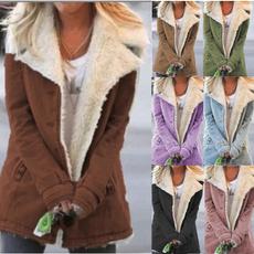 lapel, Plus Size, cottonclothe, Winter