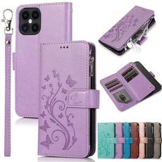 case, butterfly, Flowers, Phone