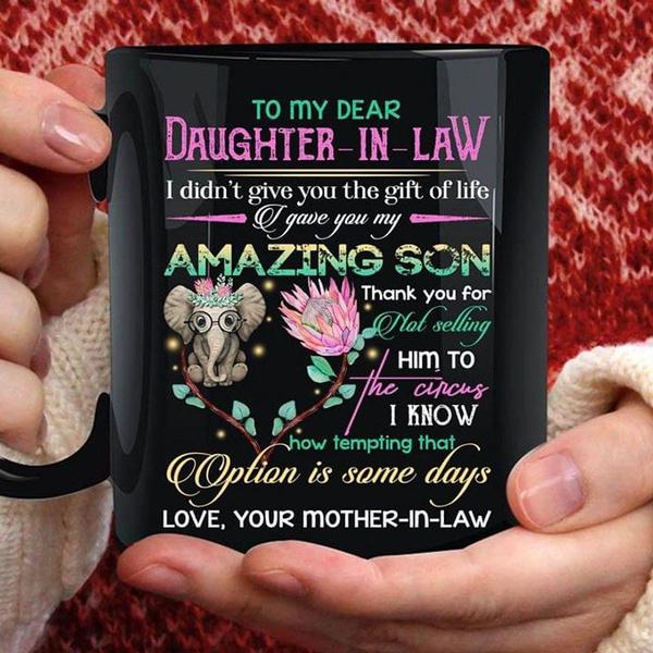 wishmug, Coffee, cute, daughtergift
