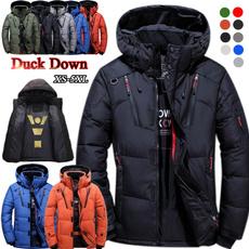 Stand Collar, wintercoatformen, hooded, Winter
