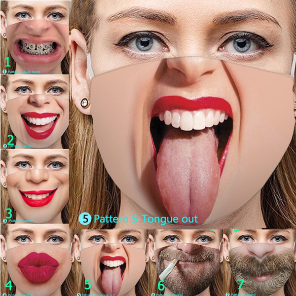 Funny, Cotton, mouthmask, Windproof
