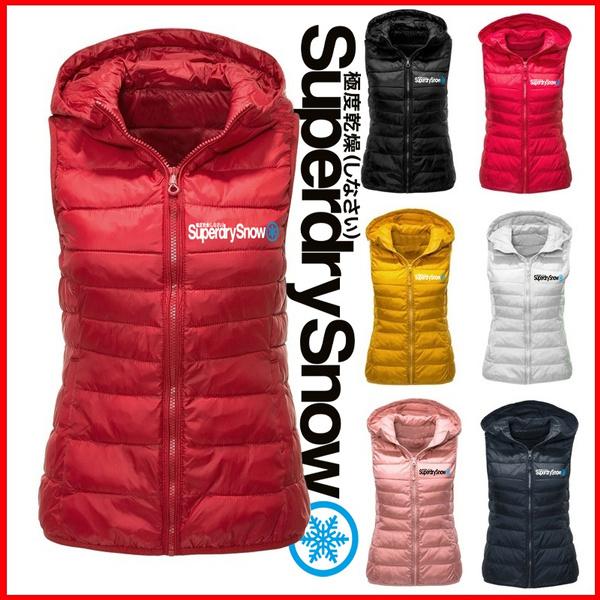 Fashion, zipperjacket, superdry, Winter Coat Women