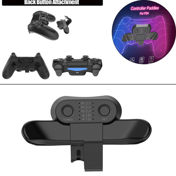 rearbutton, backbuttonattachmentforps4, button, withturbokeyadapter