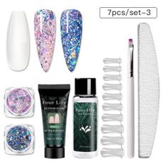 nail tips, uvbuilderkit, Extension, Beauty