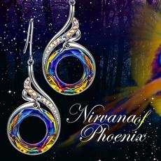 peacock, Dangle Earring, Jewelry, Phoenix