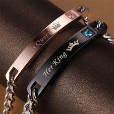 Steel, King, Stainless Steel, Jewelry