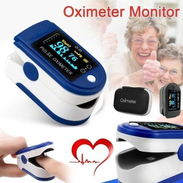 Heart, fingerpulseoximeter, Monitors, Colorful