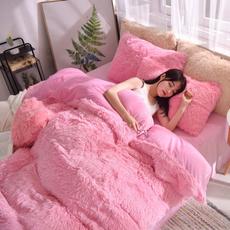 shaggy, fur, duvet, Bedding