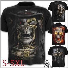 Mens T Shirt, Goth, Shorts, Shirt