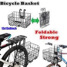 Baskets, Mountain, hangingbasketbracket, Bicycle