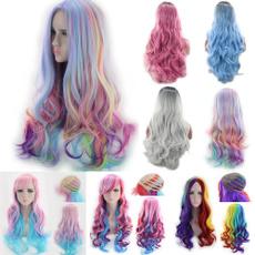 wig, rainbow, Fashion, Cosplay