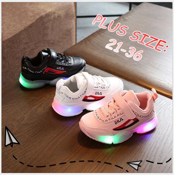 cute, Sneakers, kidssportshoe, led