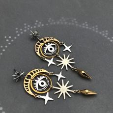 Sterling, Gemstone Earrings, Stud Earring, ear studs