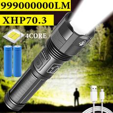 Flashlight, Batteries, Hiking, Outdoor