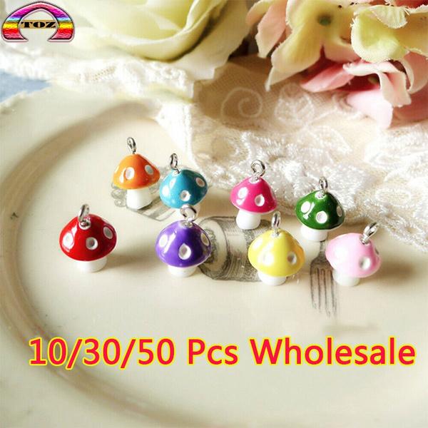 earringpendant, pendantcharm, Jewelry, Mushroom