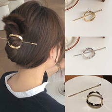 hair, womenhairpin, hairbunclip, Metal
