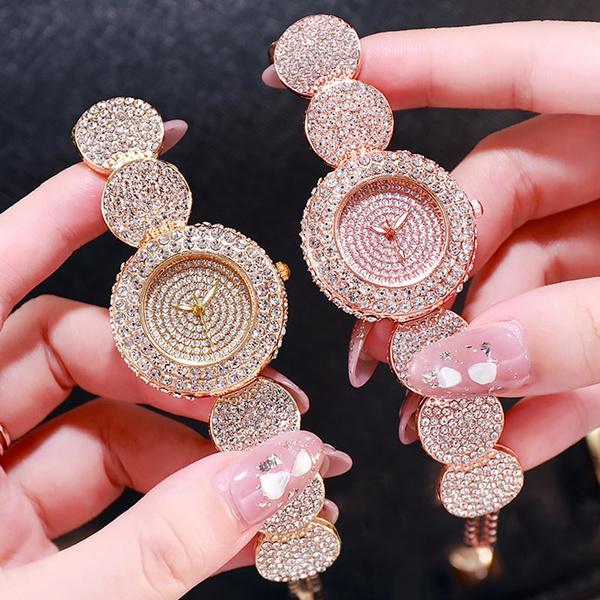 Steel, Fashion, Jewelry, rhinestonewatch