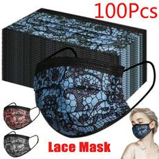 fashioncover, Fashion, mouthmask, Lace