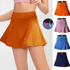 Shorts, Yoga, Fitness, slimskirt