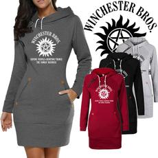 womenszipperhoodie, hooded, Winter, Sleeve