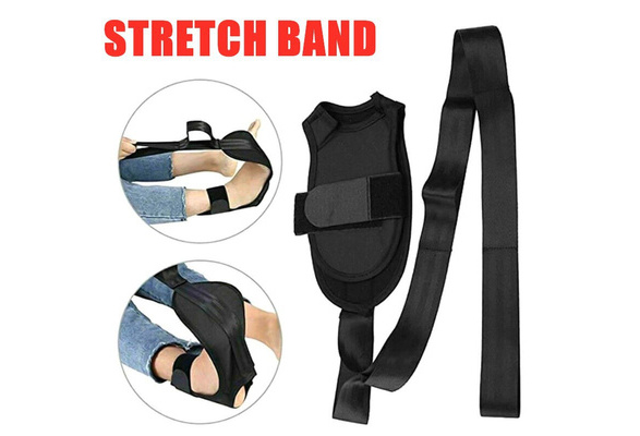 Yoga Ligament Stretching Belt Foot Drop Strap Leg Training Foot Correct Ankle❤na