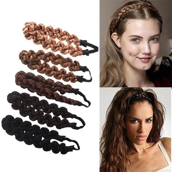 Braids, Elastic, headwear, Vintage