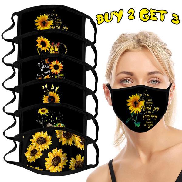 washable, Adjustable, Sunflowers, Fashionable