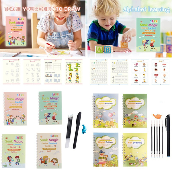 handwritingskill, exercisebook, Magic, reuse