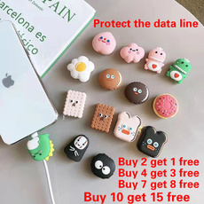 IPhone Accessories, cute, charger, cableprotection