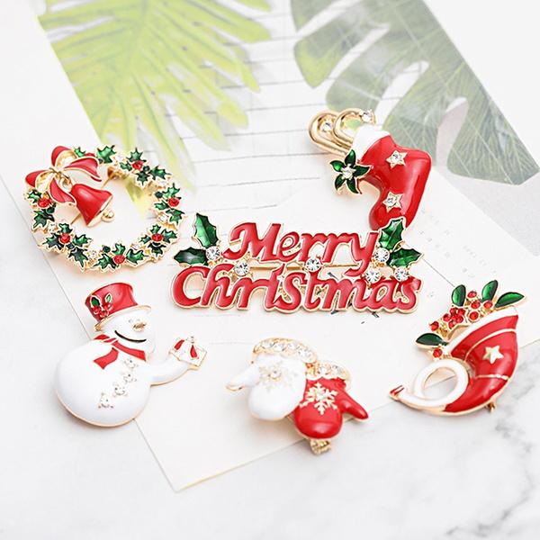 snowman, christmaspin, Pins, Bell