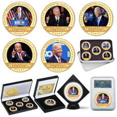 2020election, presidentcoin, gift for him, gold