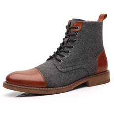 ankle boots, dress shoes, Mens Boots, Leather Boots