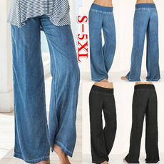 wide, trousers, pants, Straight