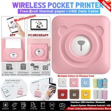 wireless, miniphotoprinter, Printers, paperphotoprinter