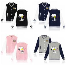 Casual Jackets, Fashion, snoopyjersey, Sleeve