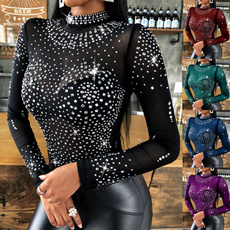 Plus Size, Sleeve, Long Sleeve, women top